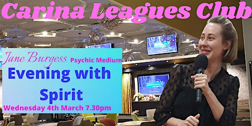 Psychic Medium Jane Burgess - Live