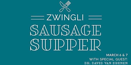 2020 Zwingli Sausage Supper & Seminar: Christianity in a Pluralistic World