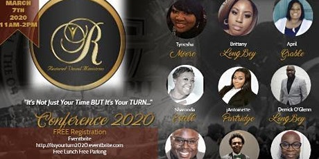 """It's Not Just Your Time BUT It's Your Turn"" 20/20 Vision Conference tickets"