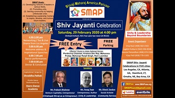 SMAP Shiv Jayanti Celebrations