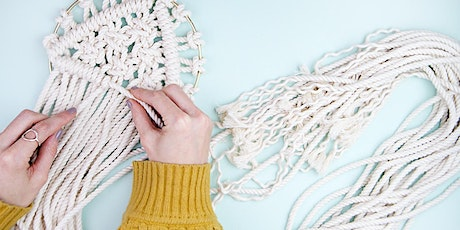 Make a Chic Macrame Wall Hanging tickets