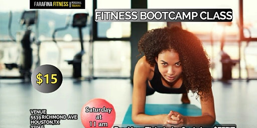 Fitness Bootcamp Class