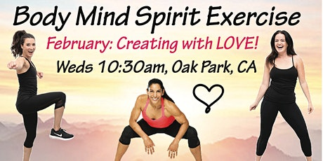 """Creating with Love!!  Body Mind Spirit Exercise ~ """"inten~Sati"""" tickets"""