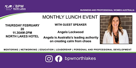 BPW North Lakes February Lunch tickets