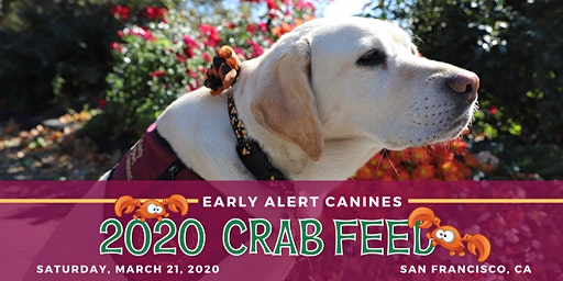 Early Alert Canines 7th Annual Crab Feed & Auction Fundraiser