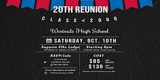 Westside c/o 2000 20 Year Reunion