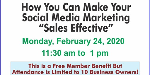 Monthly Marketing Monday: Make Your Social Media Effective