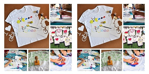 """Kid's T-Shirt Painting Party"""