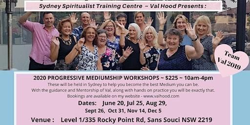 Progressive Mediumship Workshop with Val Hood Sydney 2020 - 20 June