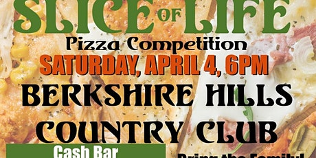 10th Annual Slice of Life Pizza Competition! Save the date! tickets