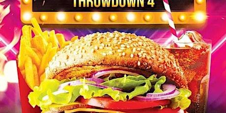 Boat Burger Throwdown 4 tickets