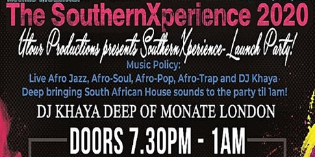 Utour Productions presents 'SouthernXperience 2020' Launch Party tickets