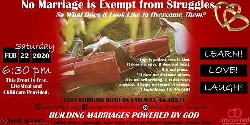 No Marriage Is Exempt From Struggles!