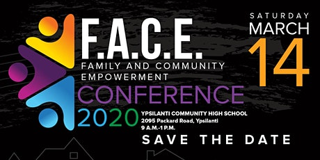 F.A.C.E. Conference (Family and Community Empowerment Conference) tickets