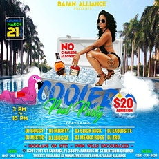 Bajan Alliance Cooler Pool Party tickets