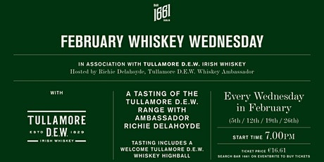 ON WEDNESDAY WE WHISKEY @ BAR 1661 tickets