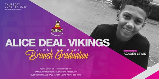 Alice Deal Vikings Class of 2024 Brunch Graduation Party