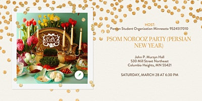PSOM Norooz Party (Persian New Year)