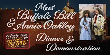 Meet Buffalo Bill and Annie Oakley-Dinner and Demonstration