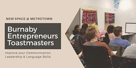 2020 Burnaby Entrepreneurs Toastmasters Weekly Meeting tickets