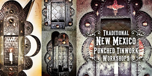 Traditional New Mexico Punched Tinwork Workshop (Beginner)