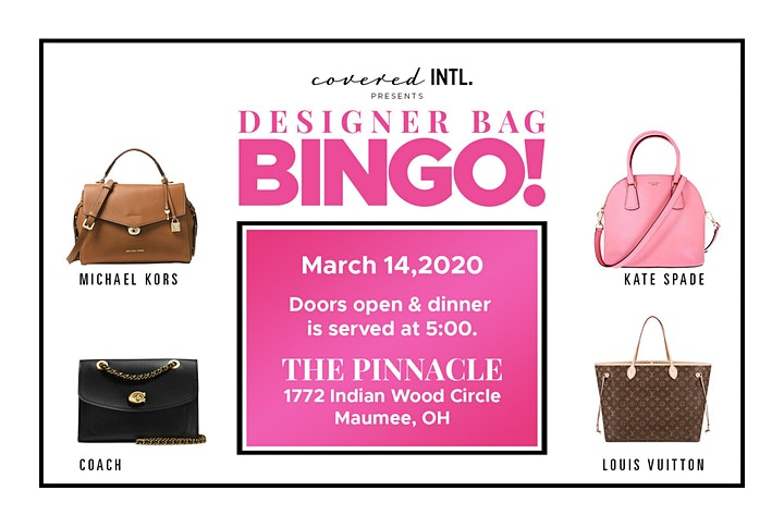 Copy of Covered INTL's Designer Bag BINGO image