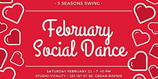 February Social Dance!
