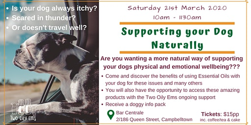 Supporting your Dog Naturally
