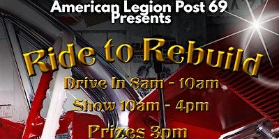 Ride to Rebuild Car Show