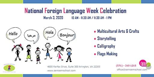 National Foreign Language Week Celebration