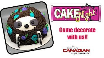 CakeNight - Leduc - Sloth Cake
