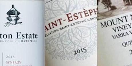 Harvest Hamper Trail:  Wine Tasting - 5@5 (Synergy at Sunset) Bordeaux Tasting tickets