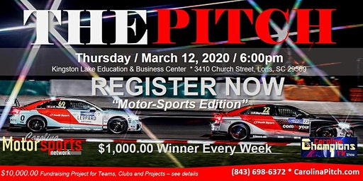 The Pitch - March - Motor Sports Edition