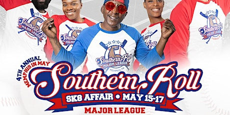 "4th Annual ""Memphis in May"" Southern Roll Sk8 Affair: MAJOR LEAGUE tickets"