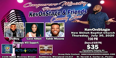 KevOnStage & Friends Comedy Show