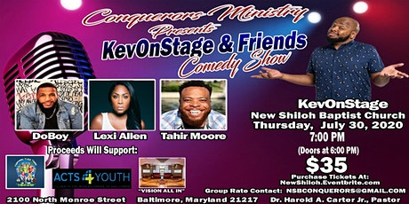 KevOnStage & Friends Comedy Show tickets