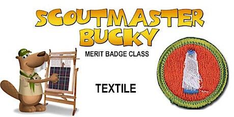 Textile Merit Badge - 2020-03-14 - Saturday PM - Scouts BSA tickets