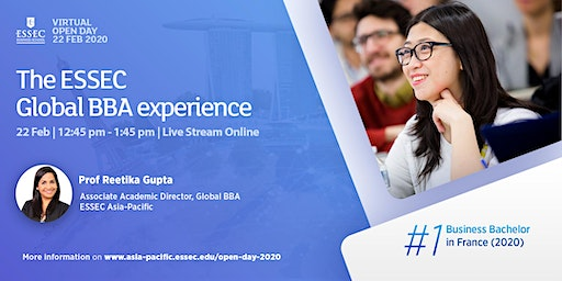 The ESSEC Global BBA Experience - Info Session & Alumni Sharing