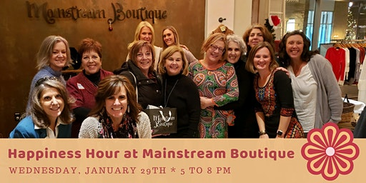 Happiness Hour at Mainstream Boutique, Get Styled with Kyle Dyer 4-8