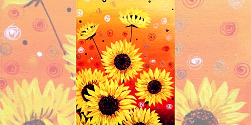 Brew N Brush: Sunflower Garden