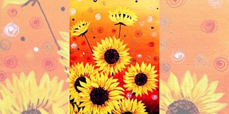 Brew N Brush: Sunflower Garden tickets