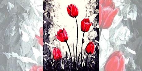 Brew N Brush: Tulips tickets