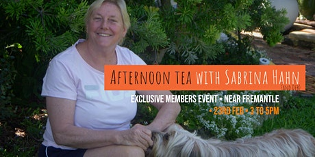 Afternoon Tea with Sabrina Hahn tickets
