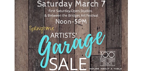 Artists' Garage Sale - Buy / Sell / Swap - Tables Available tickets
