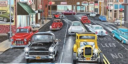 Cruisin' The Boulevard Salute to American Graffiti Car Show