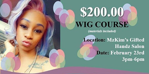 Hands-On Wig Making Class