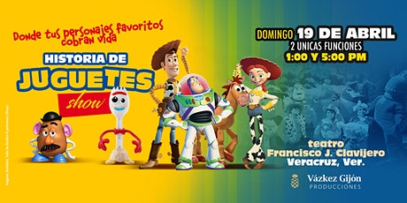 Historia de Juguetes Show en Veracruz  *FUNCION 1:00 PM* entradas