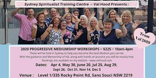 Progressive Mediumship Workshop with Val Hood Sydney 2020