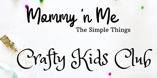 Crafty Kids Club PopUp
