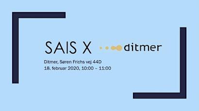 SAIS x Ditmer tickets